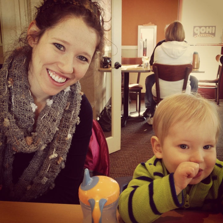 Enjoying a family Saturday. IHOP breakfast.