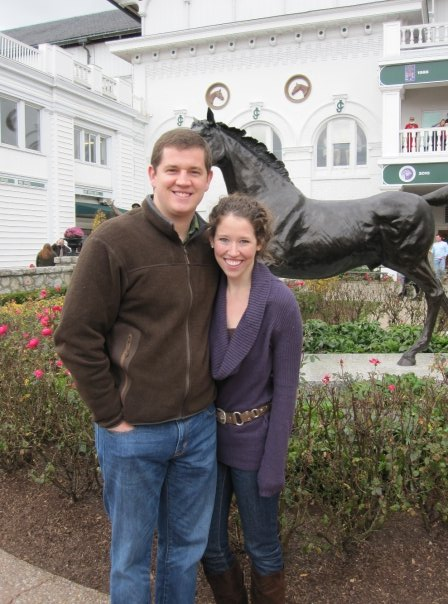 First visit to Churchill Downs.