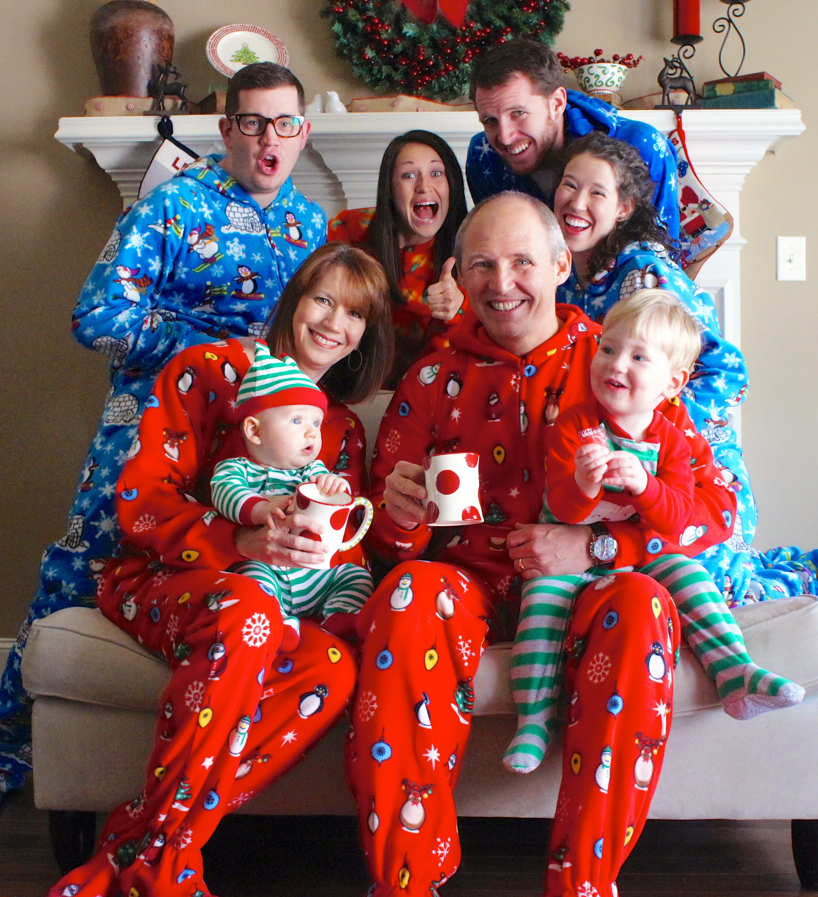 2013 Stevens family Christmas card